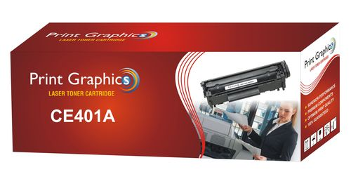 HP CE401A Color Compitable Toner Cartridge