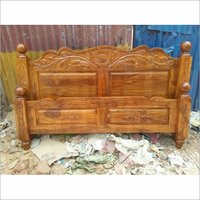 Wooden Carving Cot