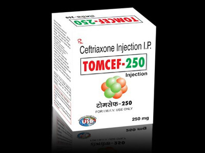 Ceftriaxone Injection IP 250 MG
