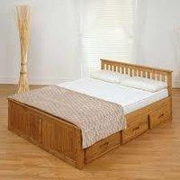 Wooden Storage Bed