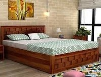 Wooden Box Bed