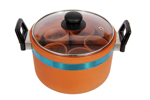 Clay Tumbler Idli Cooker