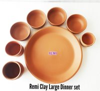 Terracotta Large Dinner Set