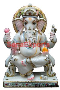 Marble Ganesh Murti Supplier