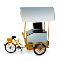 Portable Freezer On Wheel