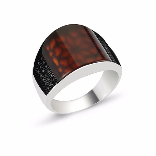 Mens Stone Ring