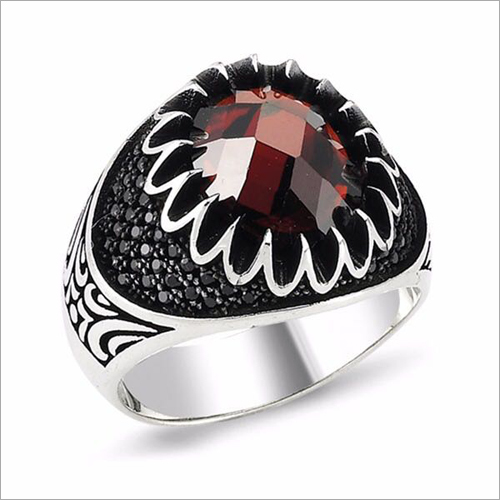 Mens Fancy Stone Ring