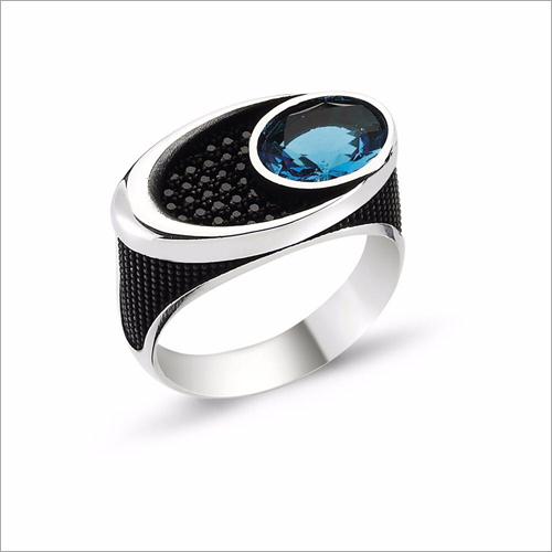 Mens Designer Stone Ring
