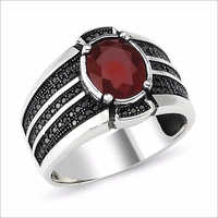 Gemstone Mens Ring