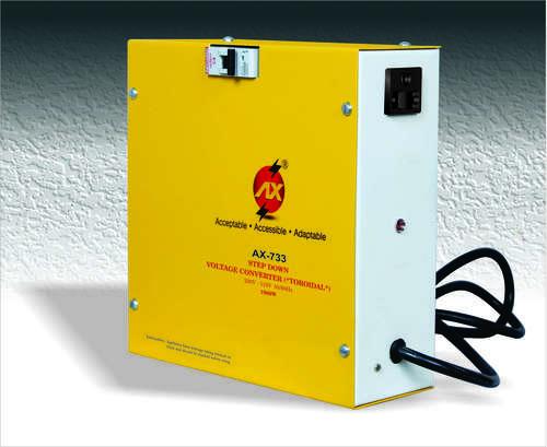 1000 WATTS STEP DOWN VOLTAGE CONVERTER 230V-110V (TOROIDAL)