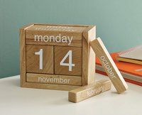 Wooden Mdf Perpetual Calendar