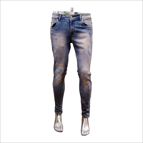 Mens Stretchable Fancy Jeans
