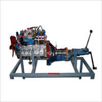 Petrol Engine with Gear Box (Actual Cut Sectional)