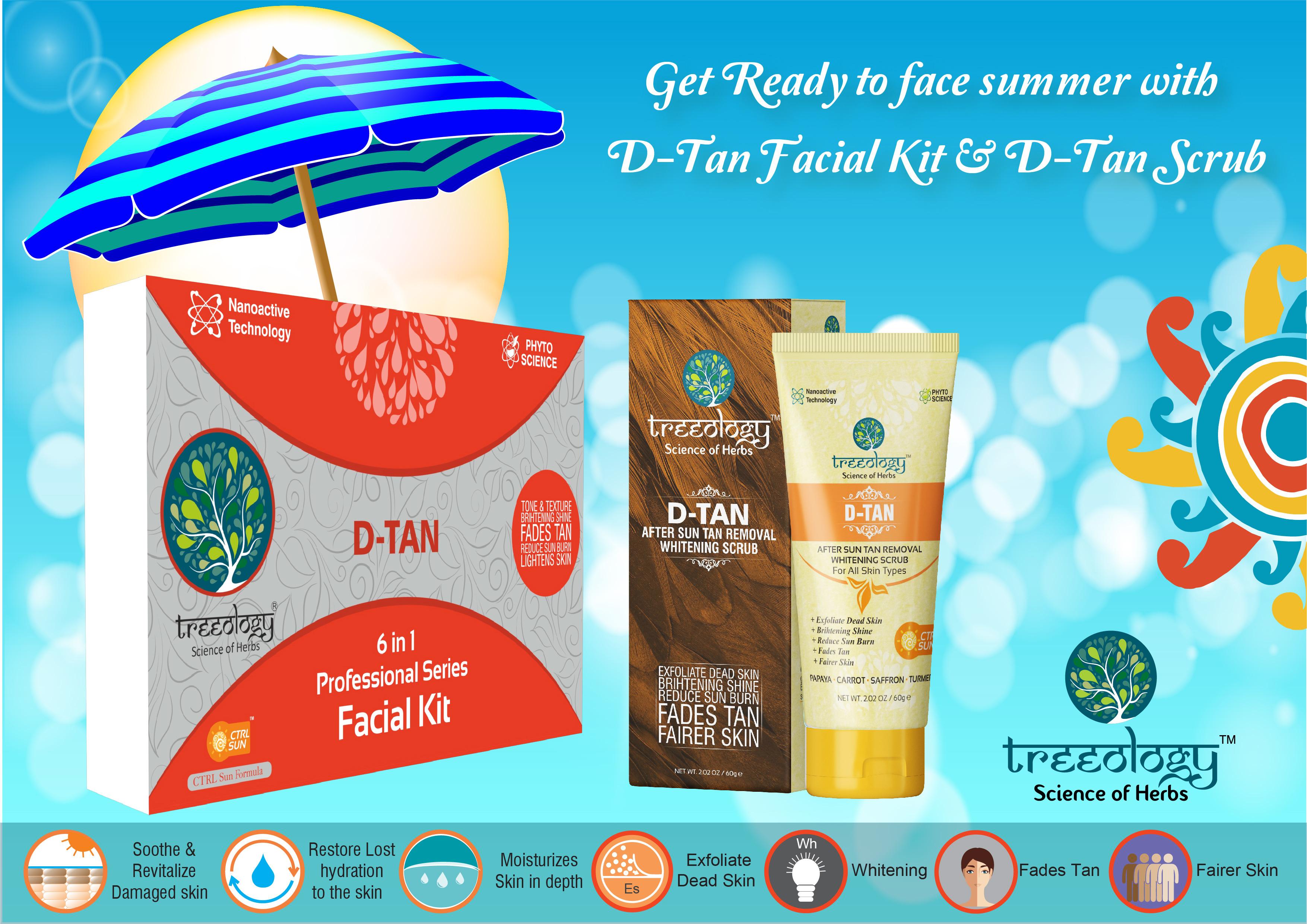 D-Tan Facial Kit