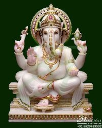 Marble Lord Ganesh Statue