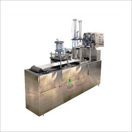 Fully Automatic Half Cooked Chapati Making Machine