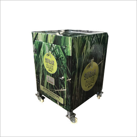 Sugarcane Crusher Electrical with Dustbin
