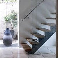 Steps with Handrails B