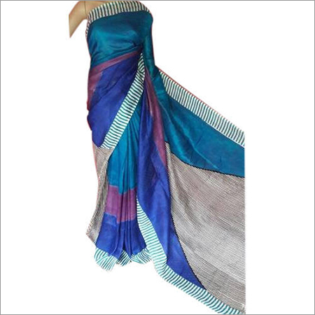 Cotton Block Print Saree