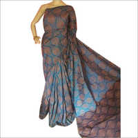 Ladies Printed Cotton Silk Saree