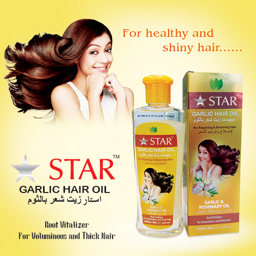 Garlic Hair Oil