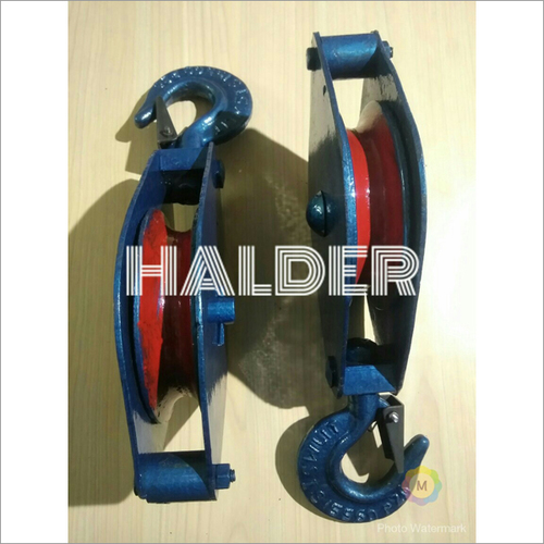 Manilla Rope Pulley