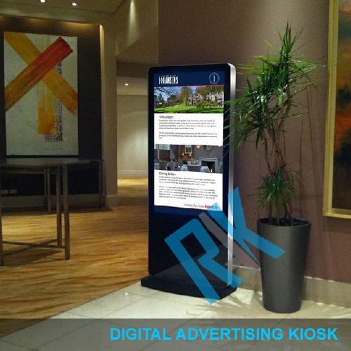 Digital Advertising Kiosk