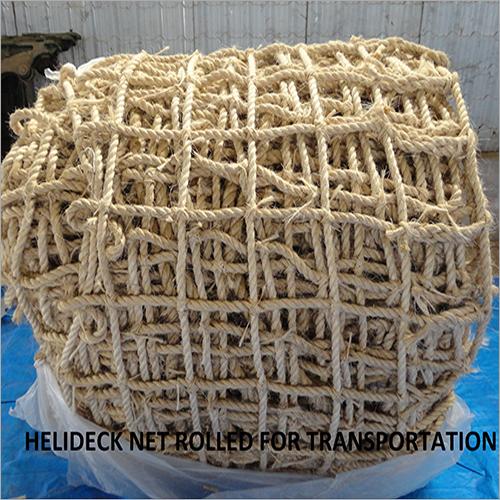 Helideck Net Rolled