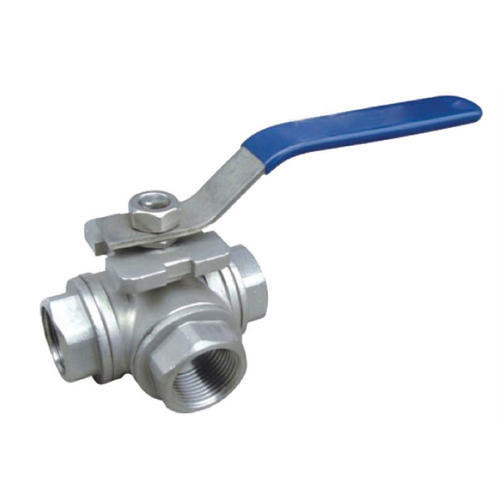 Stainless Steel 3 way Valve