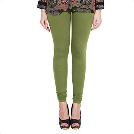 Ladies Green Leggings