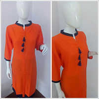 Chinese Collar Ladies Kurti