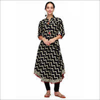Ladies Black Kurti