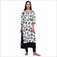 Ladies Double Layer Designer Kurti