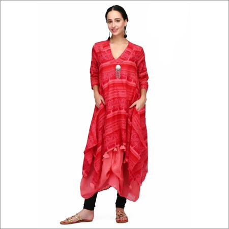 Ladies Kaftan Style Kurti