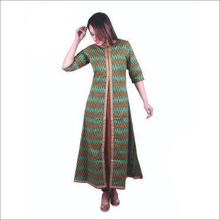 Ladies Kurti With Front Slit