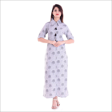 Ladies Designer Collar Kurti