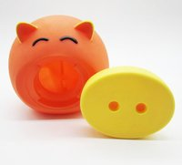 Children's gifts pig shaped money safe box