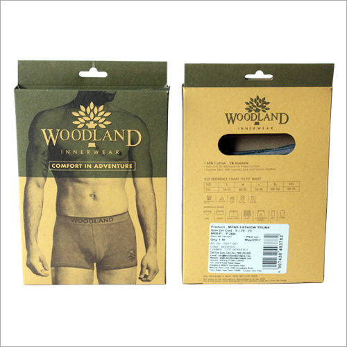 Men's Woodland Underwear