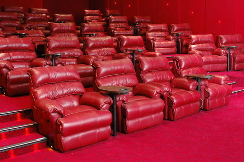Leather Theatre Chair