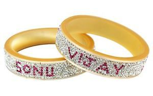 Bride Groom Name Bangles