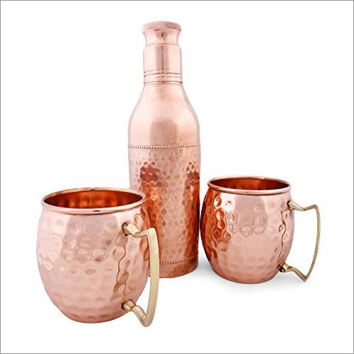 Pure Copper Antique Champagne bottle