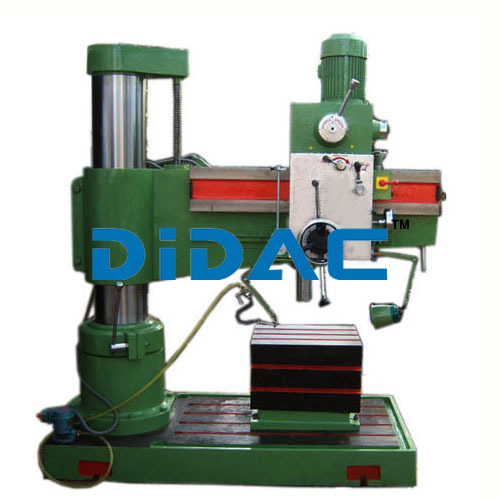 All Geared Radial Drill
