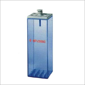 SAN Transparent Battery Container