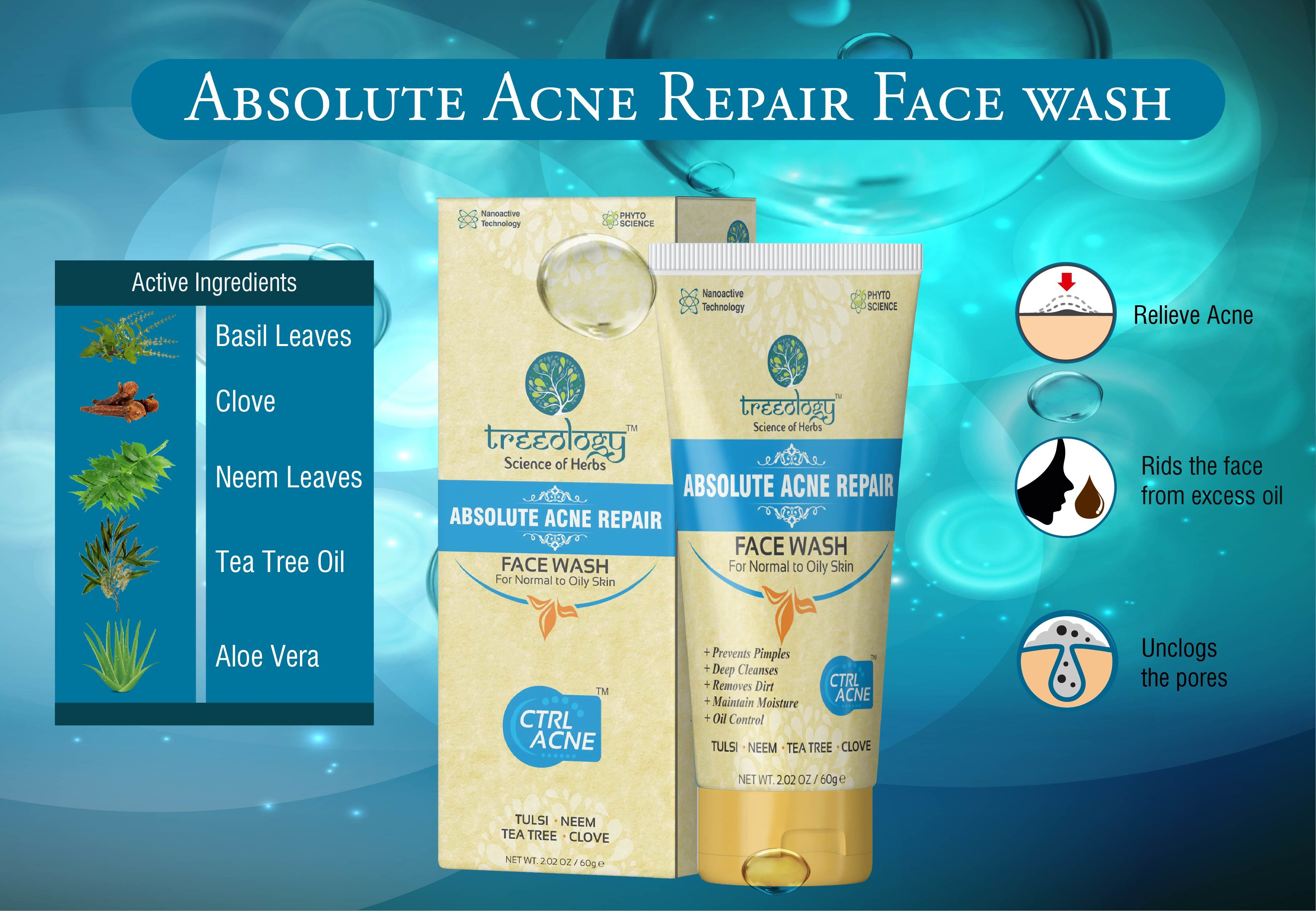 Herbal Acne Face Wash