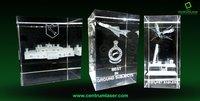 3D Crystal Corporate Achievement
