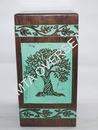Decorative Wooden Urns