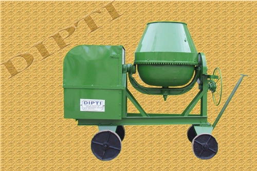 Tilting Drum Concrete Mixer Half Bag Capacity