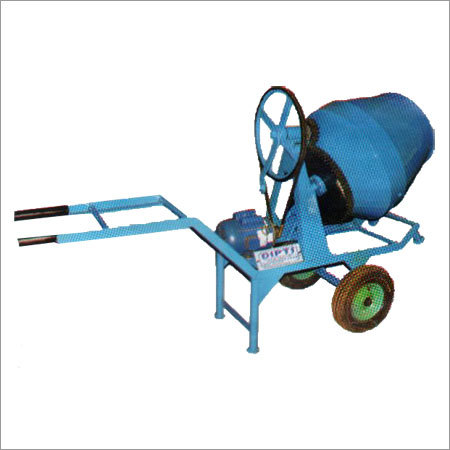 Hand Motor Operated Concrate Mixer