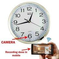 Spy Wall Clock Wifi Camera