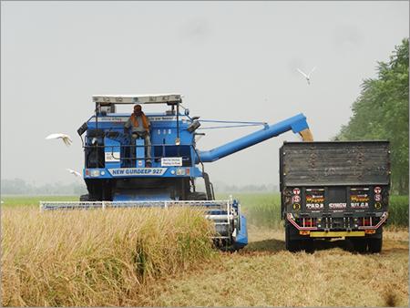 Mini Harvester Combine
